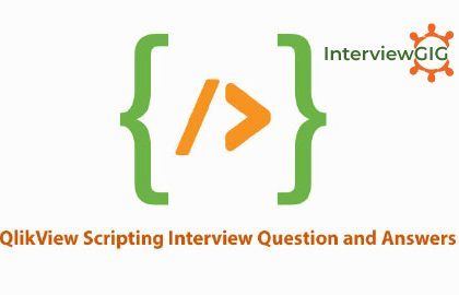 QlikView   InterviewGIG