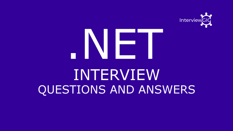 Dot net interview questions