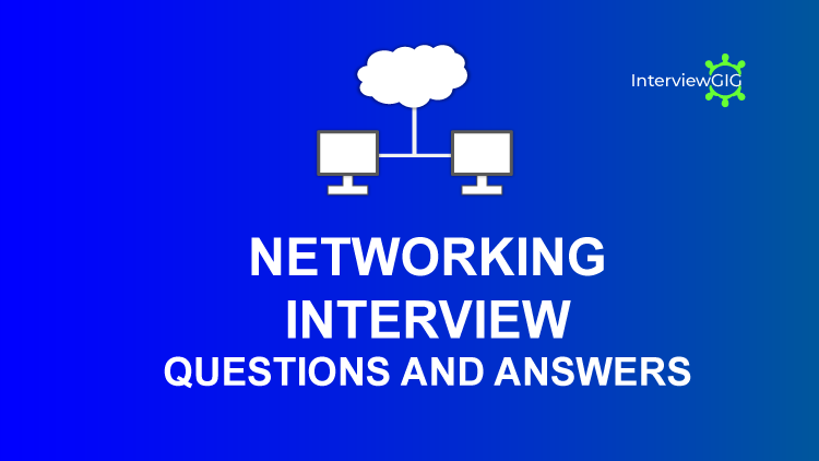 network engineer interview questions