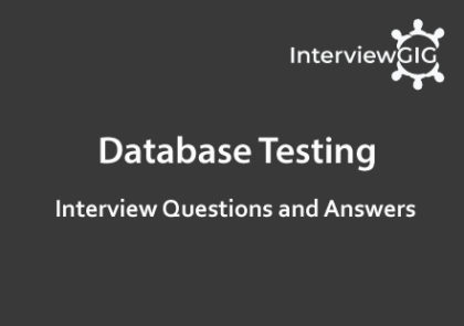 Database and SQL Topics   InterviewGIG
