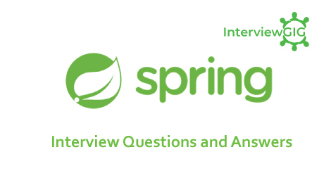 Spring Interview Questions