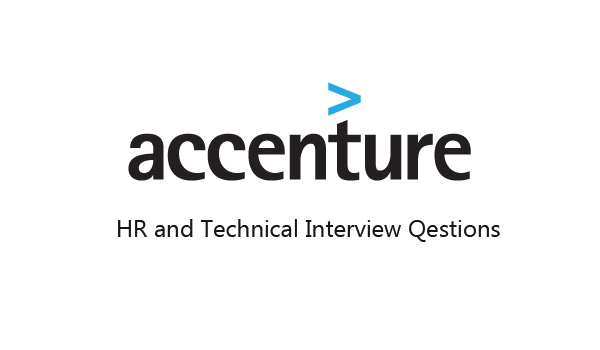 Accenture Interview Questions