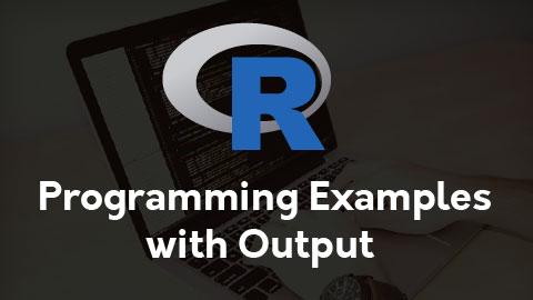 R Programming Examples